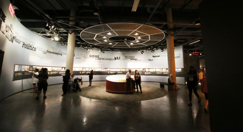 Canadian War Museum Displays