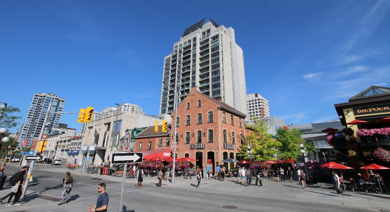 George Street by ByWard Market