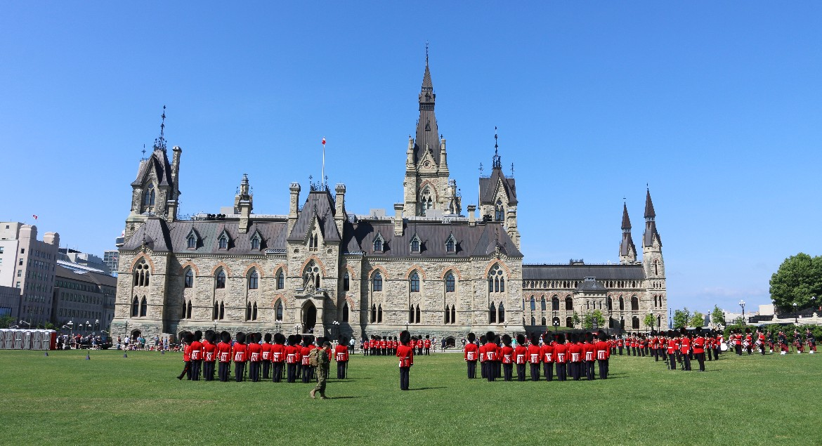 Ottawa's Changing of the Guards