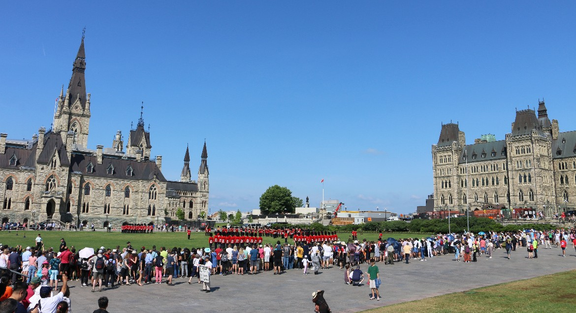 Parliament Hill Changing of the Guards