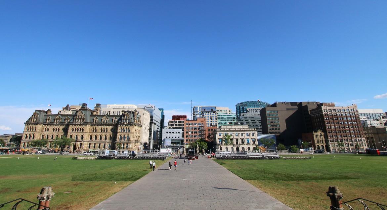 Wellington Street from Parliament Hill
